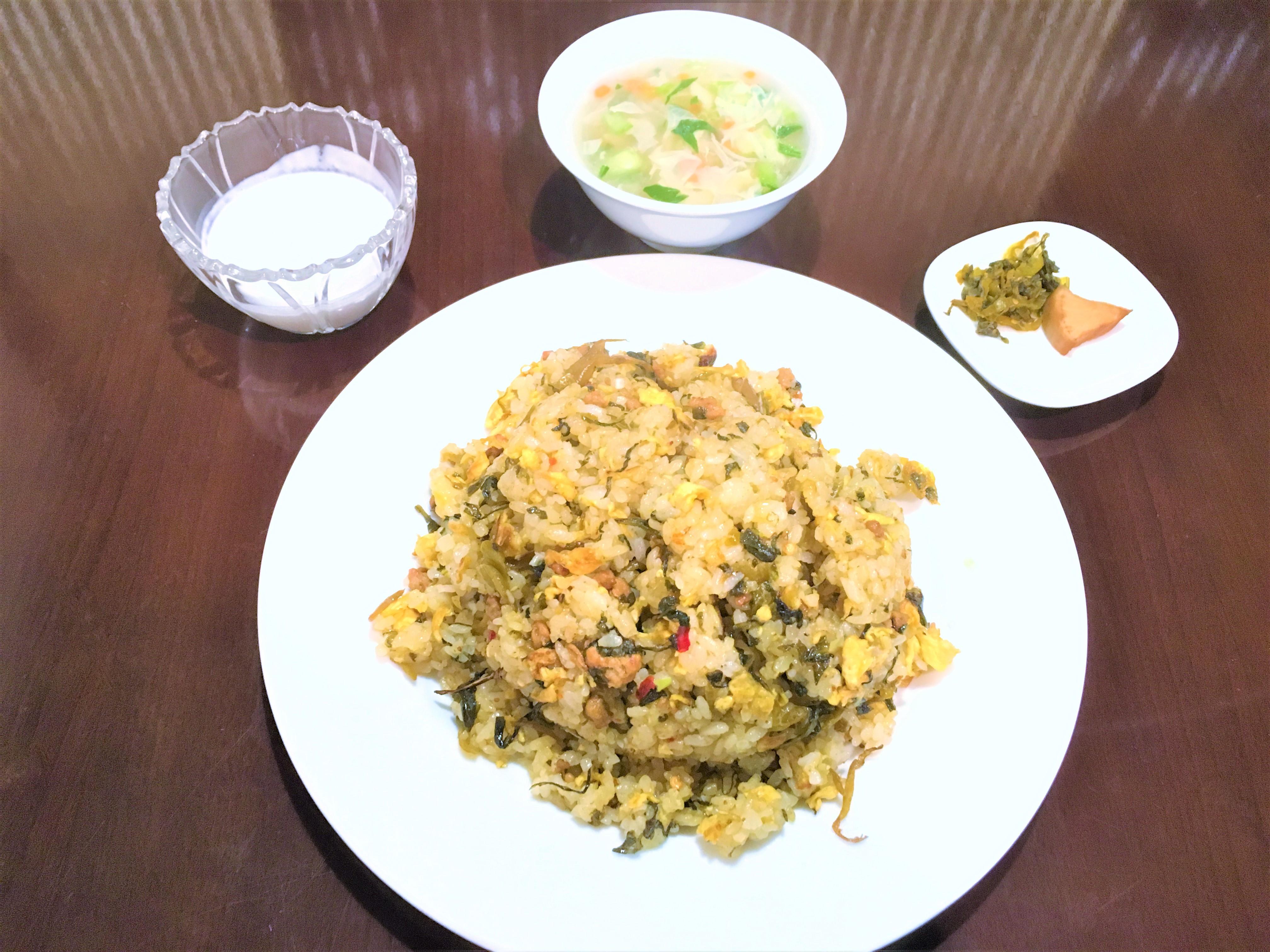 咸菜炒飯(高菜チャーハン)