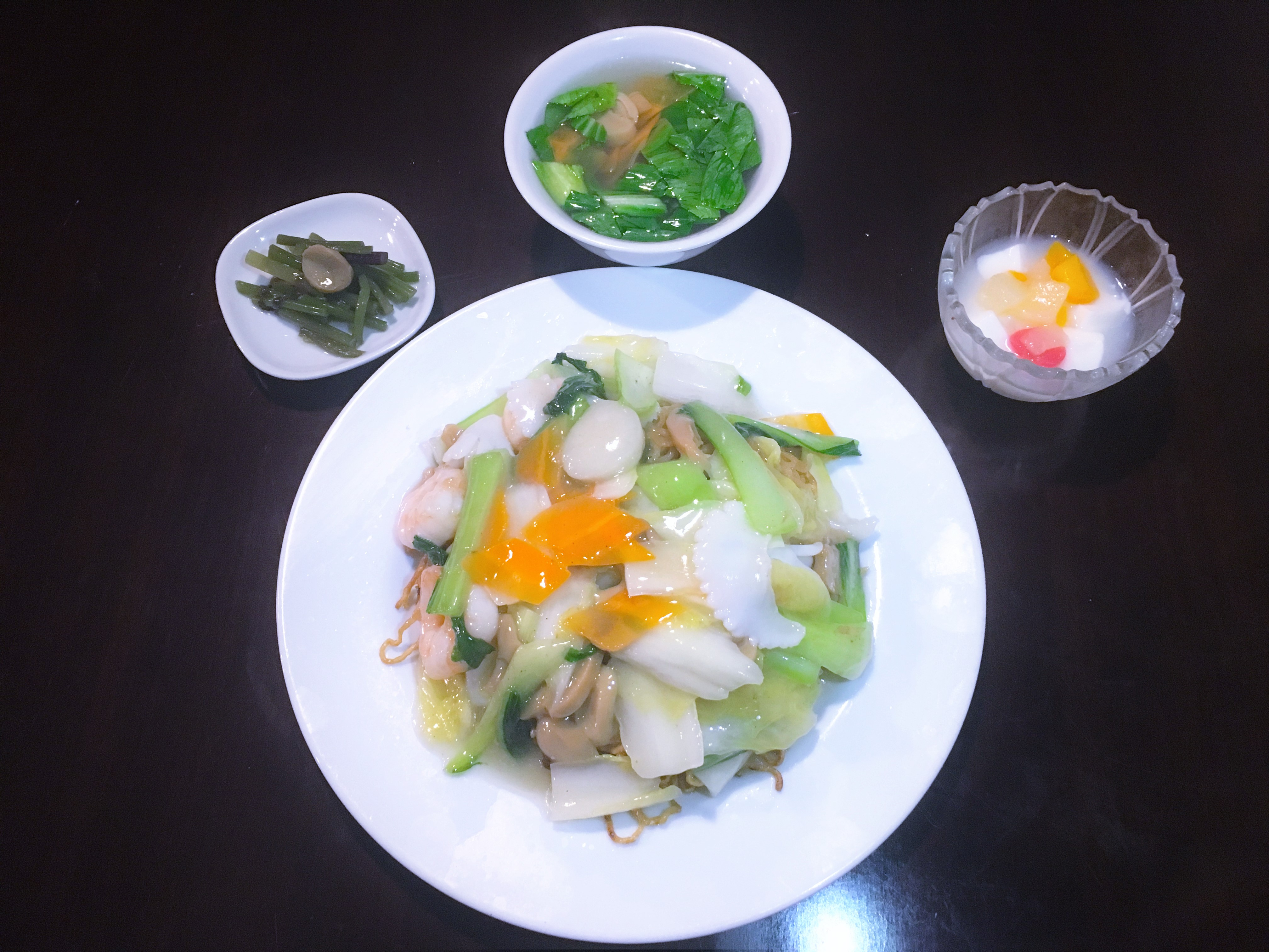 海鮮炒面(海鮮焼きそば)